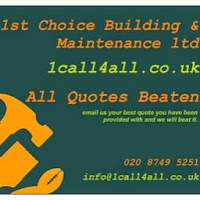 1st choice building and maintenance (1call4all.co.uk) 1106255 Image 1